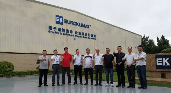 EK天津地区首批千商活动多联机经销商莅临南方基地参观指导