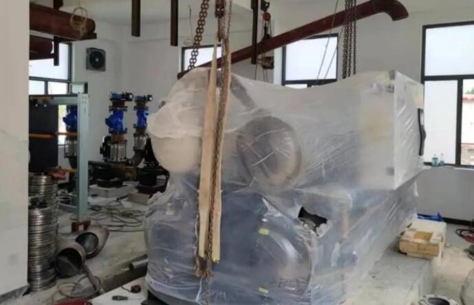 格瑞德集团成功签订水源热泵机组助力国家级4A景区旅游文化小镇